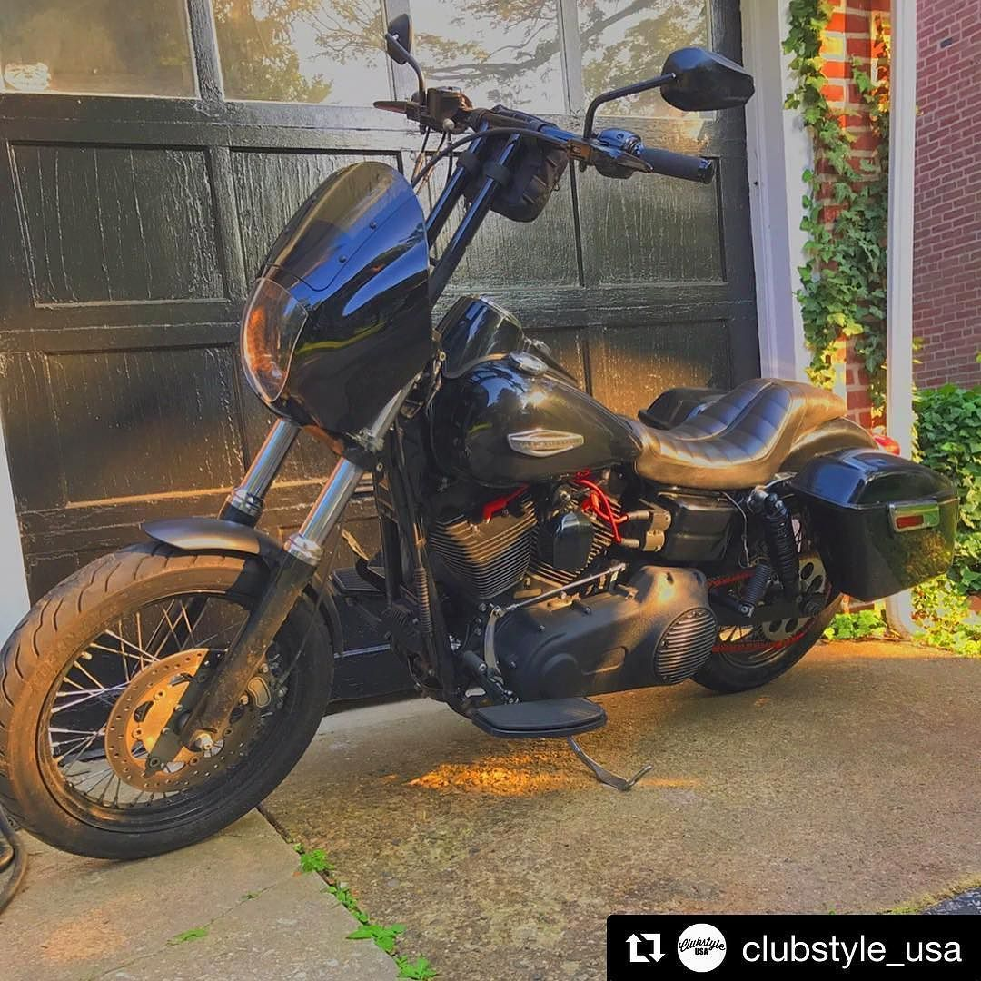 #Repost @clubstyle_usa @nero1515 Road Warrior #dyna #fld #fxdxt #fxdp #hardcorecycles #thrashinsupply #blackdynamafia #harleydavidson @hardcore_cycles @thrashinsupply