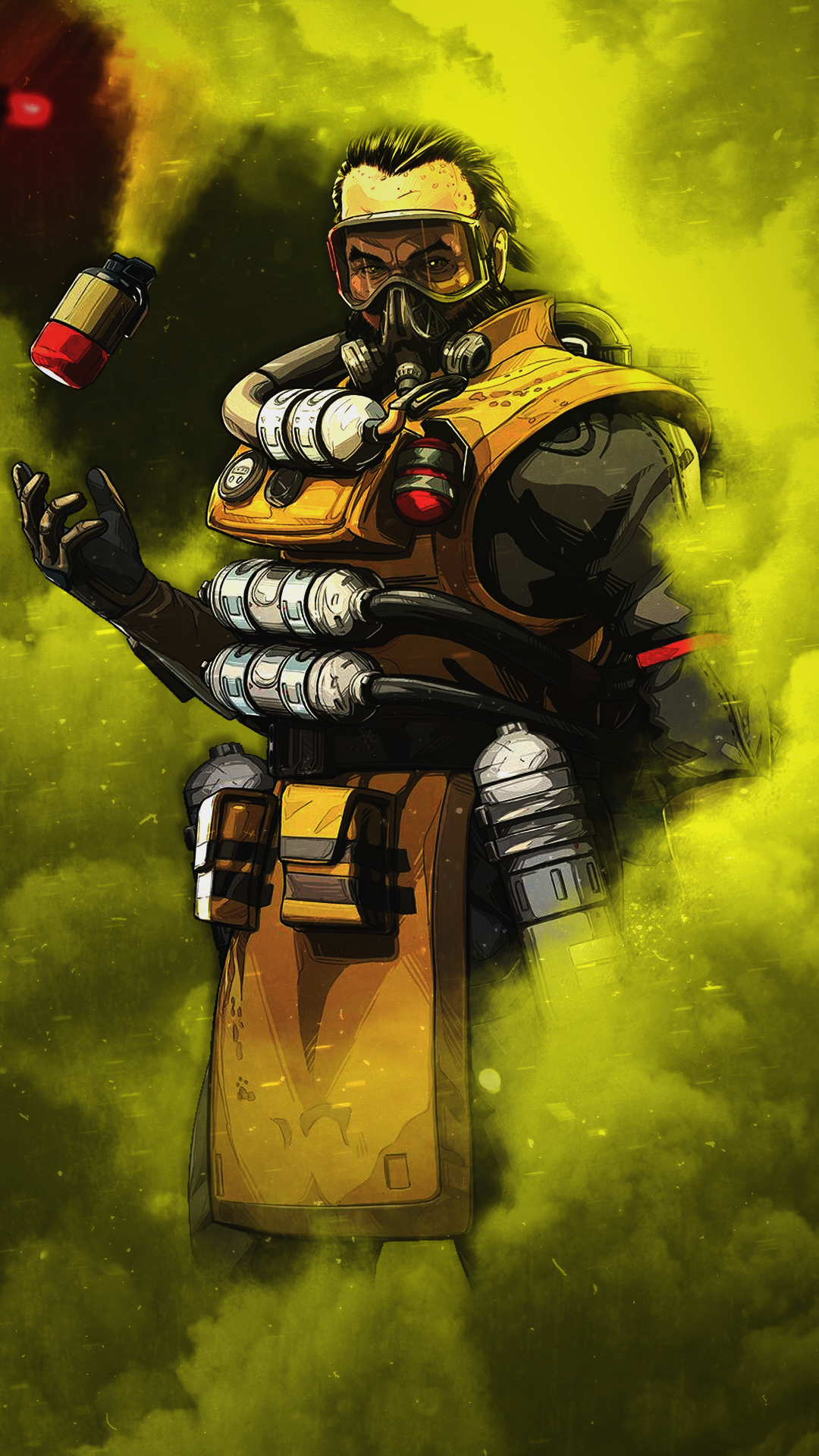 Caustic Apex Legends Art by Stierney655 Apex_Legends