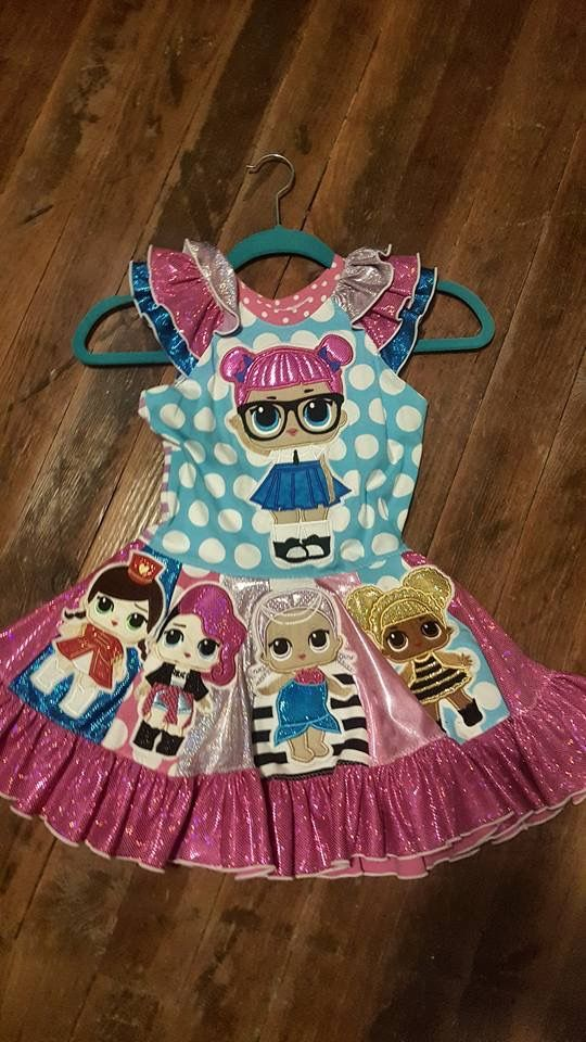 Lol Surprise Dolls Party Dress ️ Birthday Party Doll