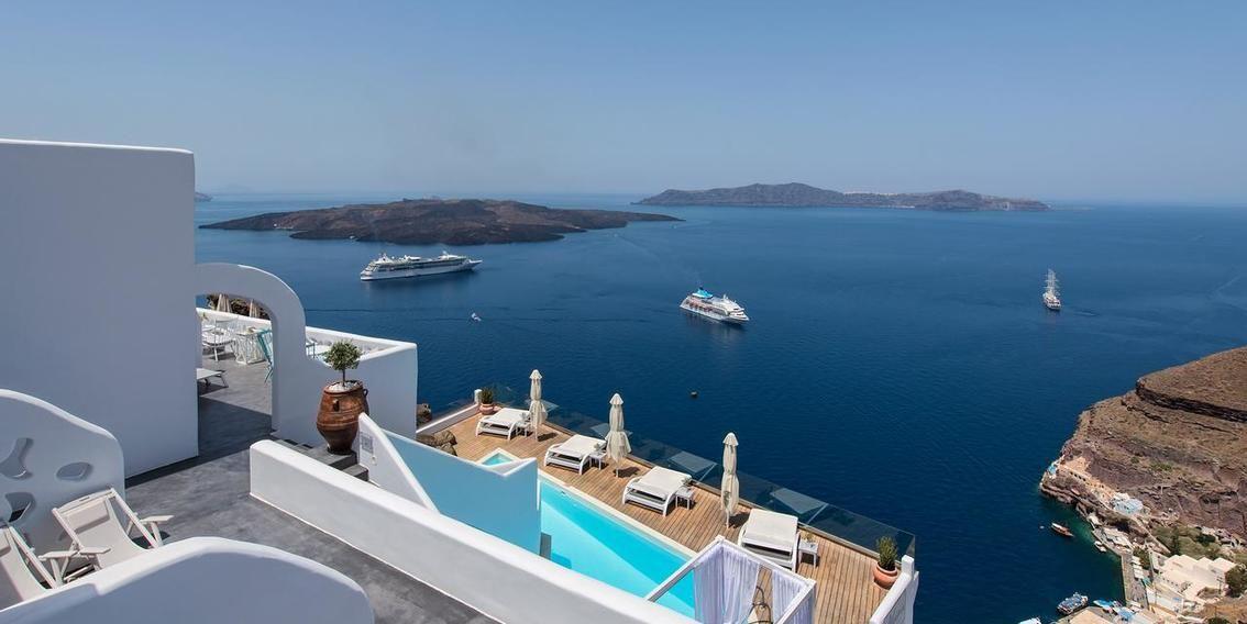 Die 20 Schonsten Hotels Auf Den Griechischen Inseln Escapio