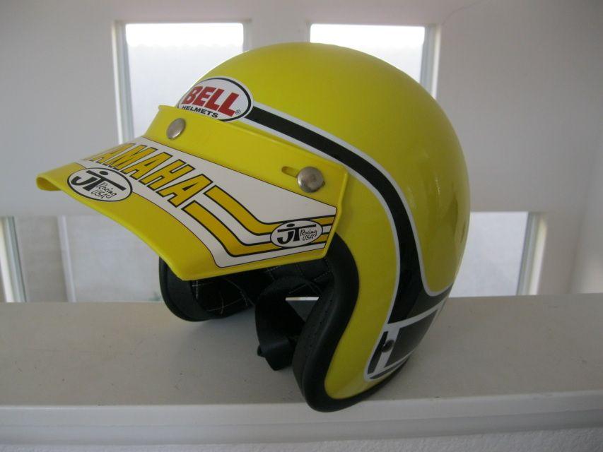 Vintage Bell Team Yamaha Replica Helmet Vintage Helmet Helmet Yamaha Helmets