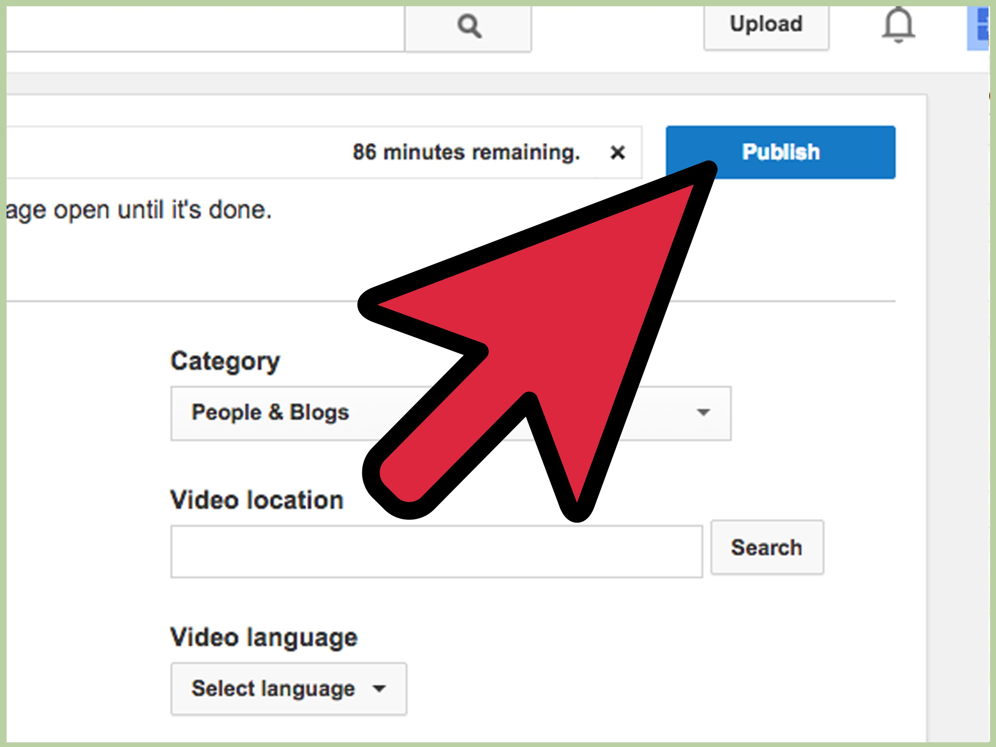 How To Upload A Video To Youtube Youtube Videos Twitter Video Search Video