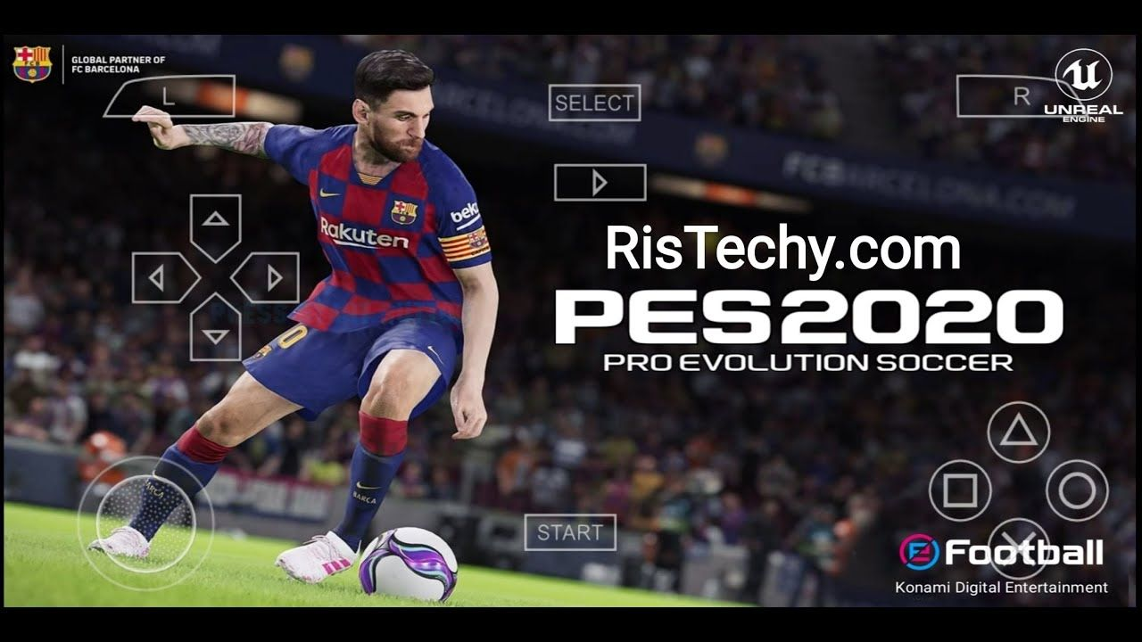 PES 2020 PPSSPP PS4 Camera PSP Folder Android Best Graphics