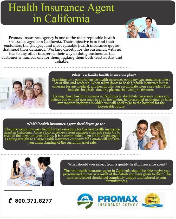 Promax Insurance Agency Is One Of The Most Reputable Health Insurance Agents In California Thei Health Insurance Agent Health Insurance Quote Health Insurance