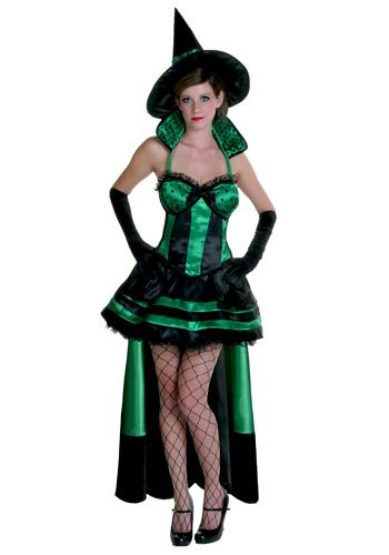Sexy witch wizard of oz costumes