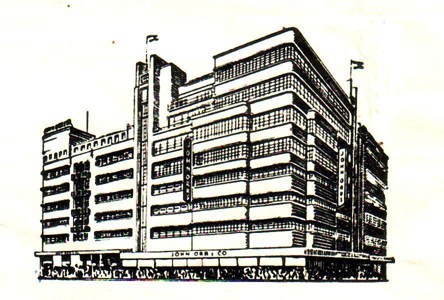 John Orr S Department Store At The Corner Of Pritchard And Von Brandis Streets Africa South Africa Johannesburg