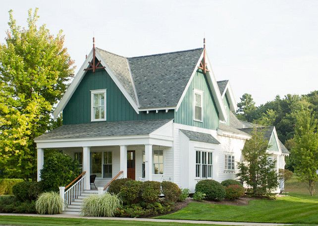 Vintagehomeca via interior design ideas home bunch - Country style exterior house colors ...