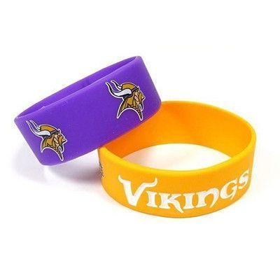Minnesota Vikings Rubber Wrist Bands
