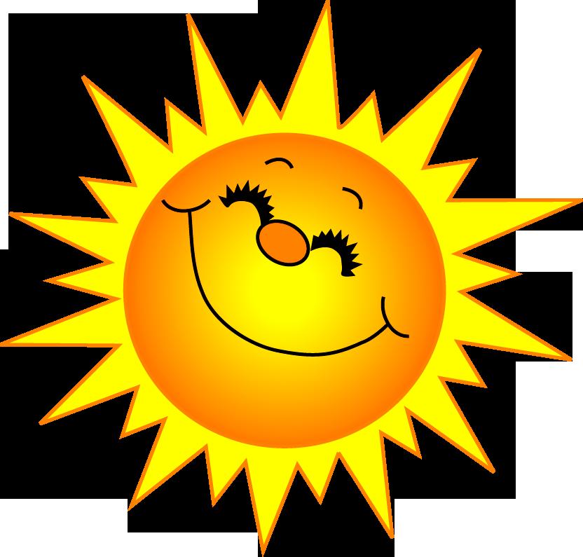 Рисунок смешной солнышка