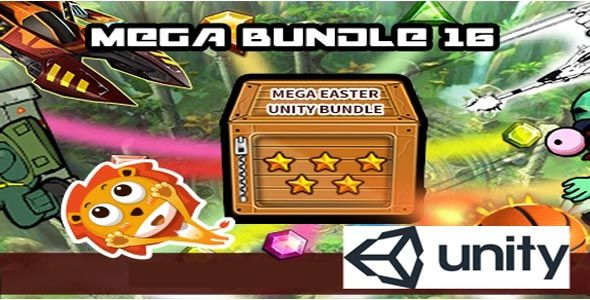 Mega Bundle 16 Unity Source Codes for Android IOS   Code