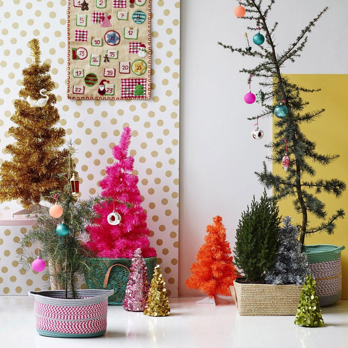 Weihnachtsbaum Rot Silber.Rice Kleiner Deko Weihnachtsbaum Rot Silber Weihnachtliche