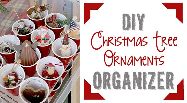 Make Your Own Christmas Ornaments Storage Box · Jillee You need to
