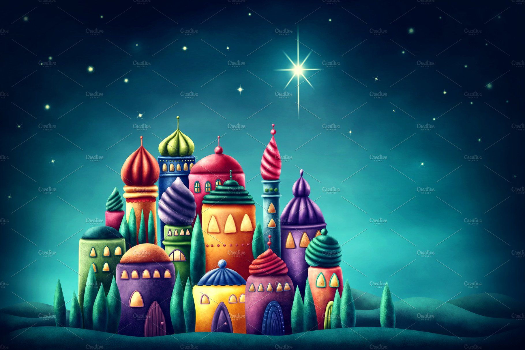 Star of Bethlehem in 2020 Star of bethlehem, Creative