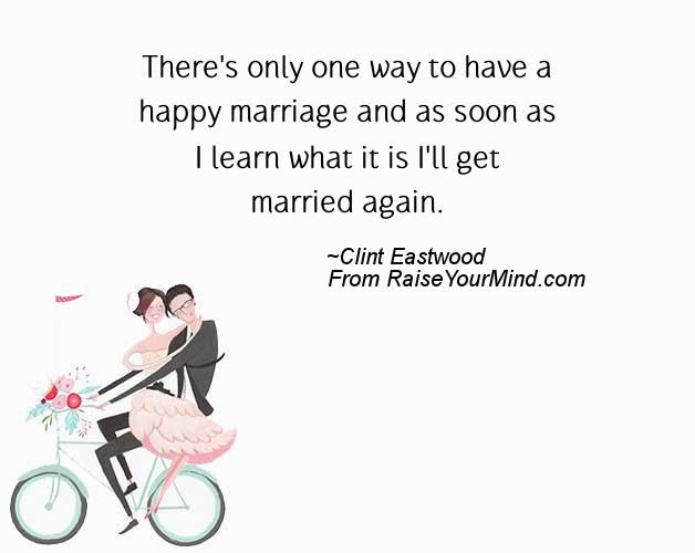 Wedding Wishes Quotes Verses Again Clint Eastwood Hy Learn