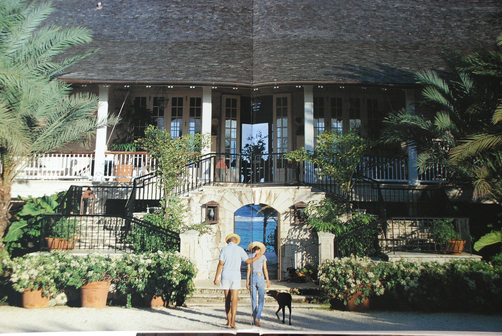 Oscar De La Renta Home the late oscar de la renta's plantation-style villa in the