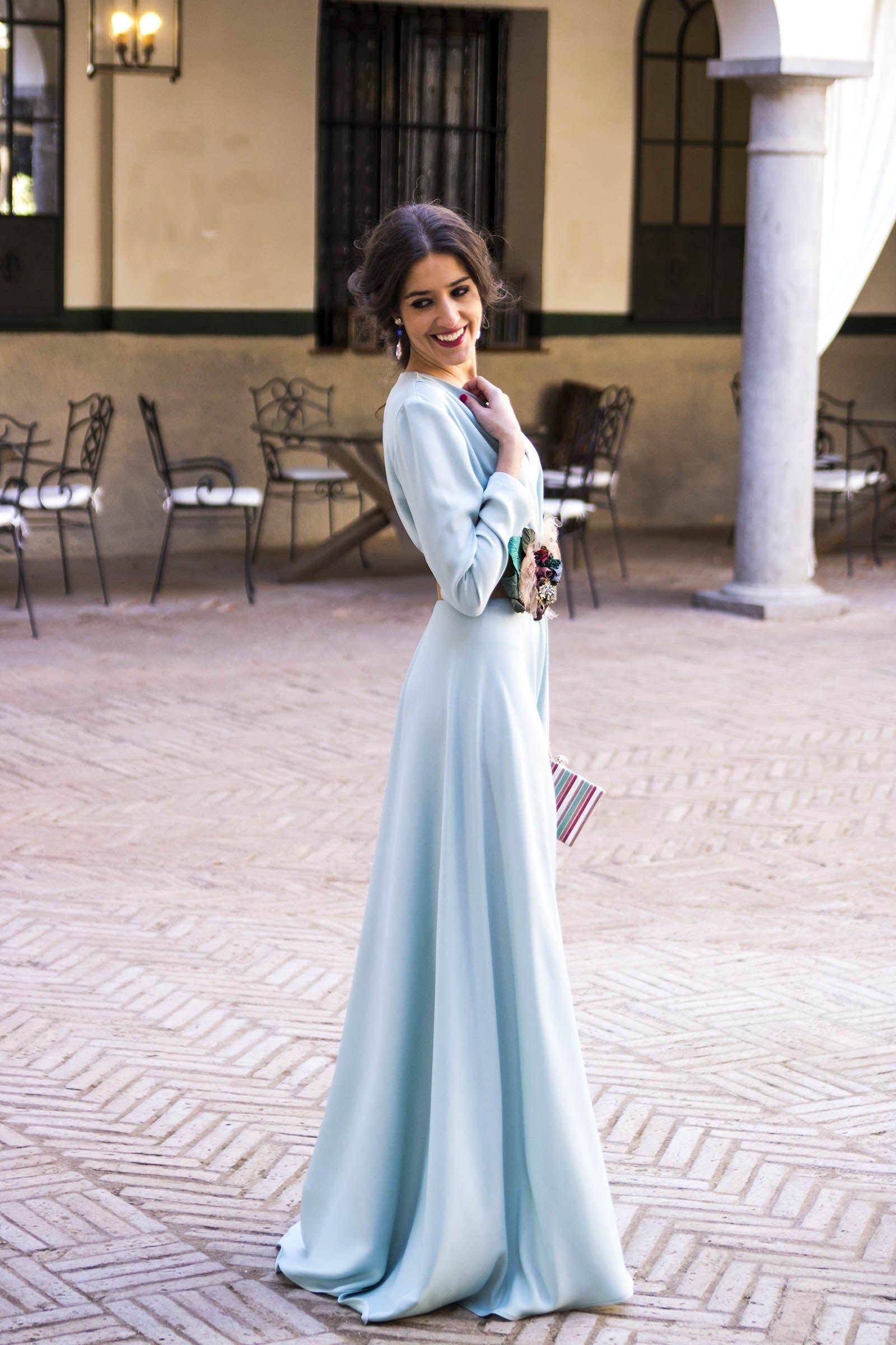 93b4a2d38 Inviitada boda noche azul Matilde Cano | ...elegance | Vestidos de ...
