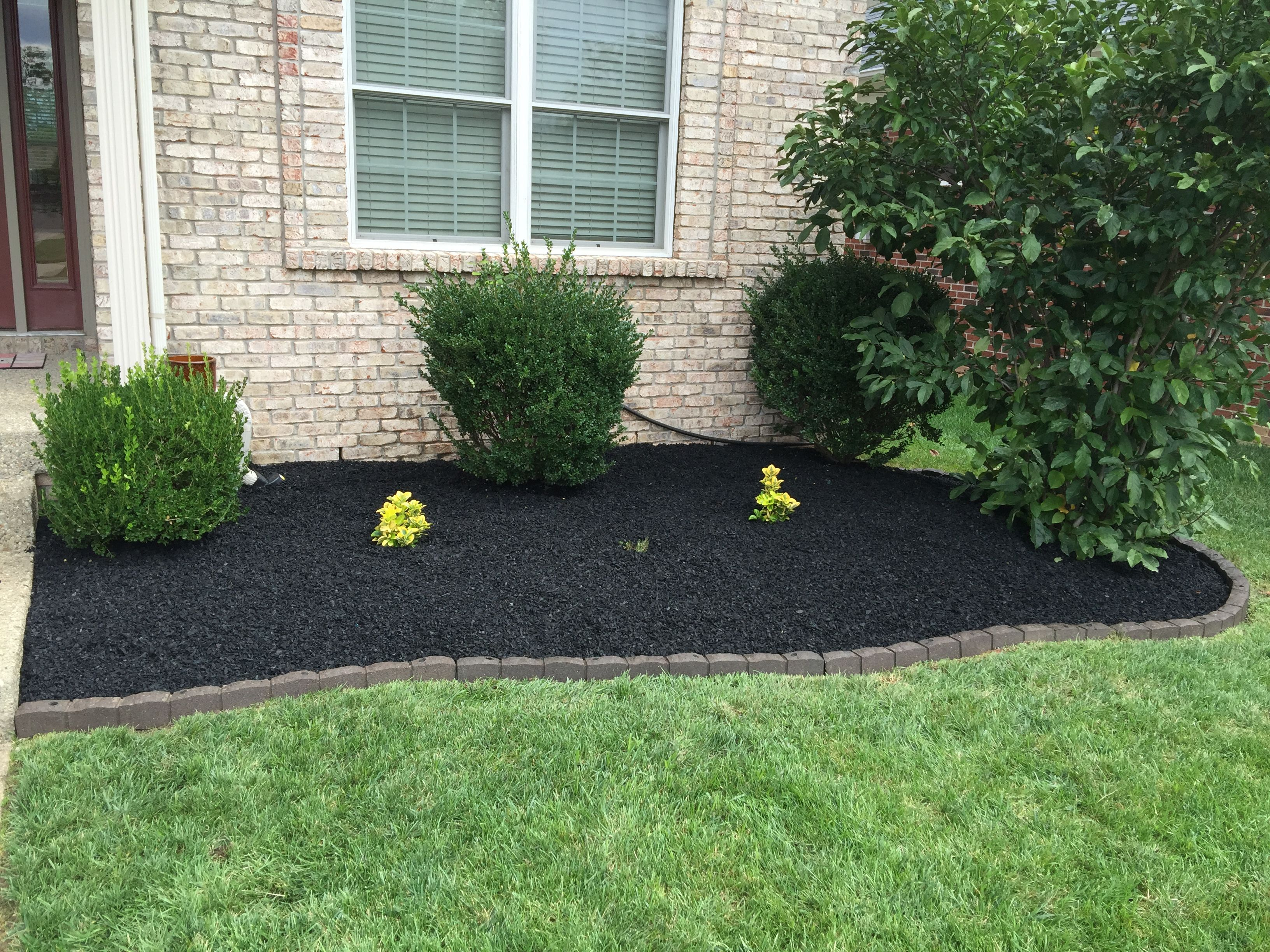 Can Rubber Mulch Prevent Weeds In My Flower Bed Advertise