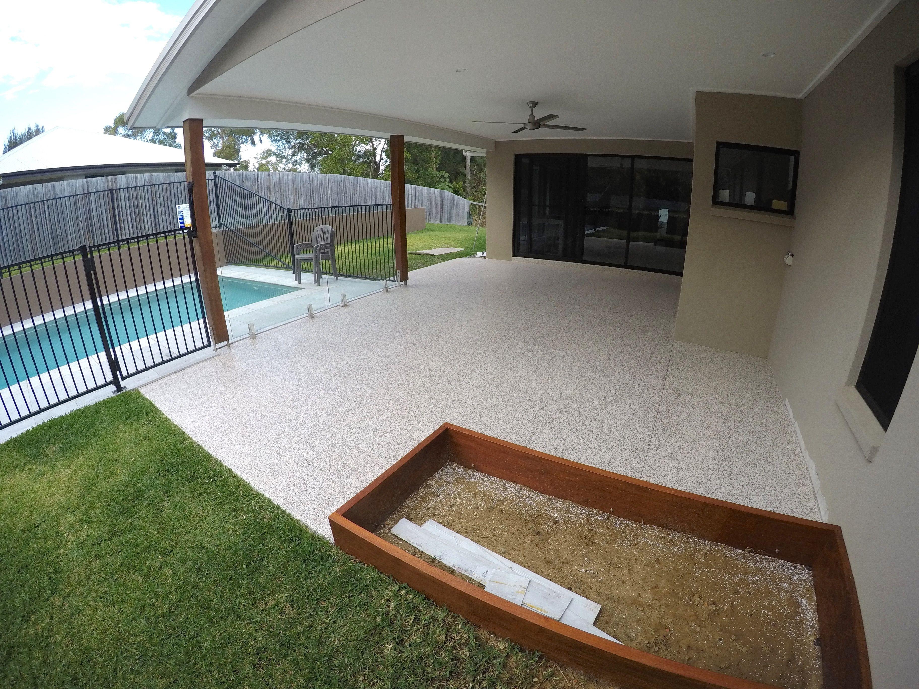 Noosaville Epoxy Flooring Installation by The Garage Floor