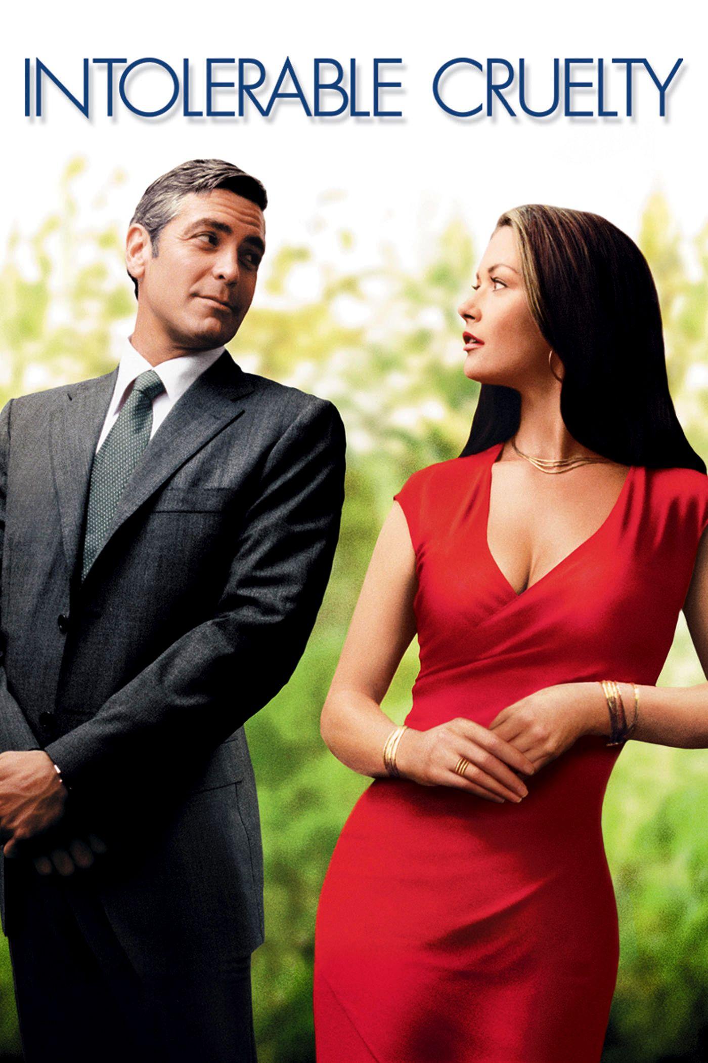 Intolerable Cruelty Movie Poster Http Ift Tt 2g7v0dr George Clooney Catherine Zeta Jones Cedric The Entertainer