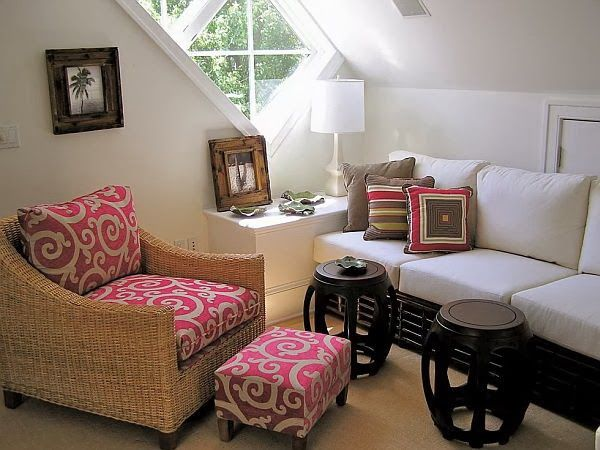 Attic sitting room by helen webb interiors home decorating trends homedit also sweet design of an apartment rh pinterest