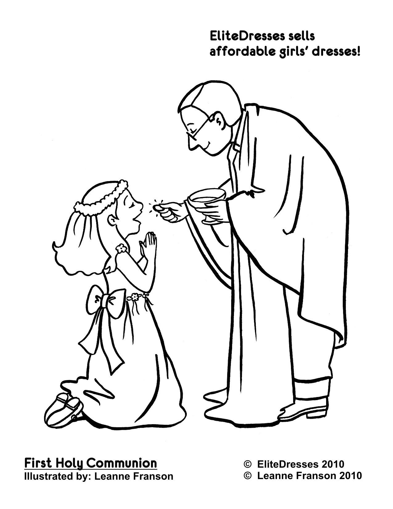 First Communion Coloring Pages Free Free Coloring Pages For Kids