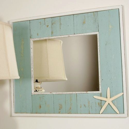 Awesome Best Beach Themed Bathroom Mirrors Remodeling