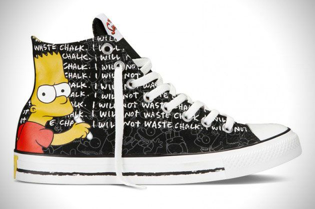 f3d50fdb0ac All Star  Converse lança linha de sapatos com  Os Simpsons