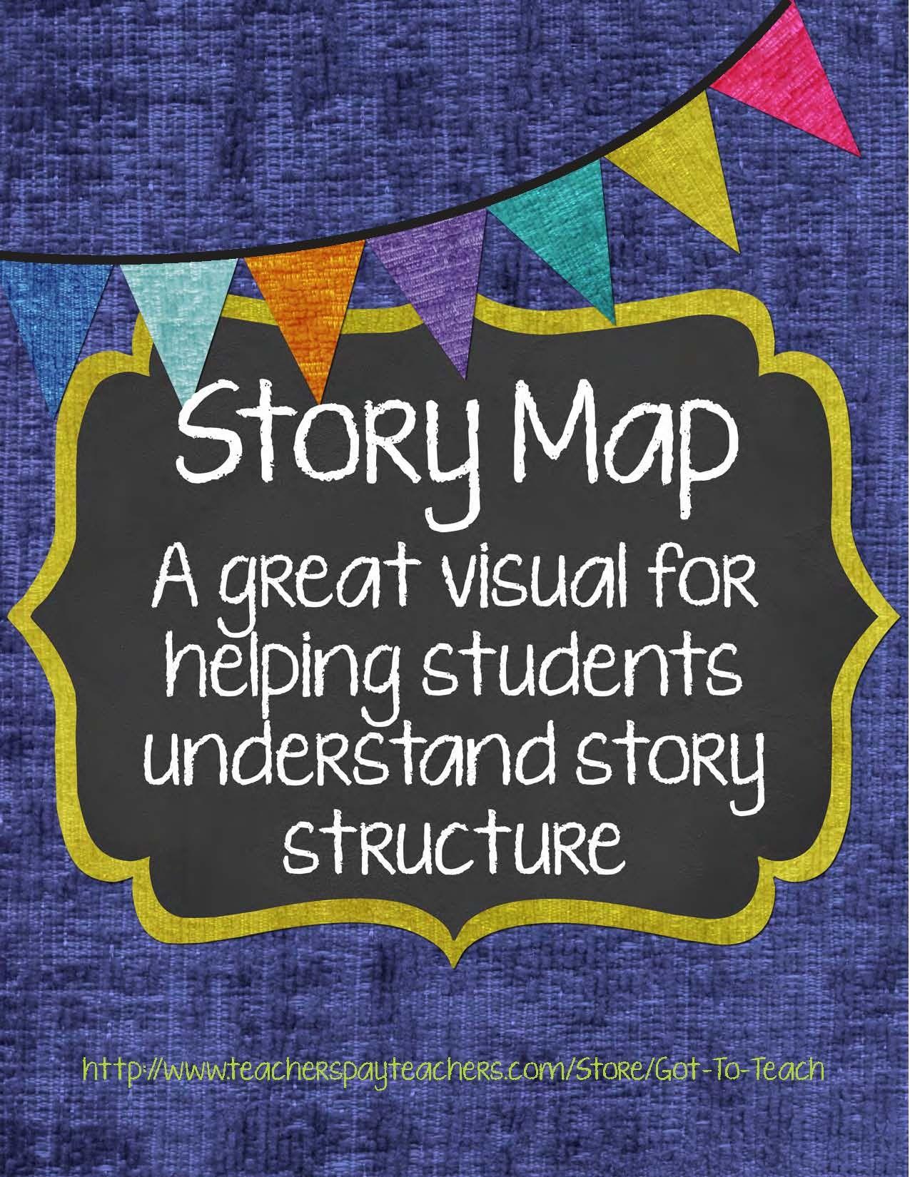 Story Map Visual Story Element Tool Freebie