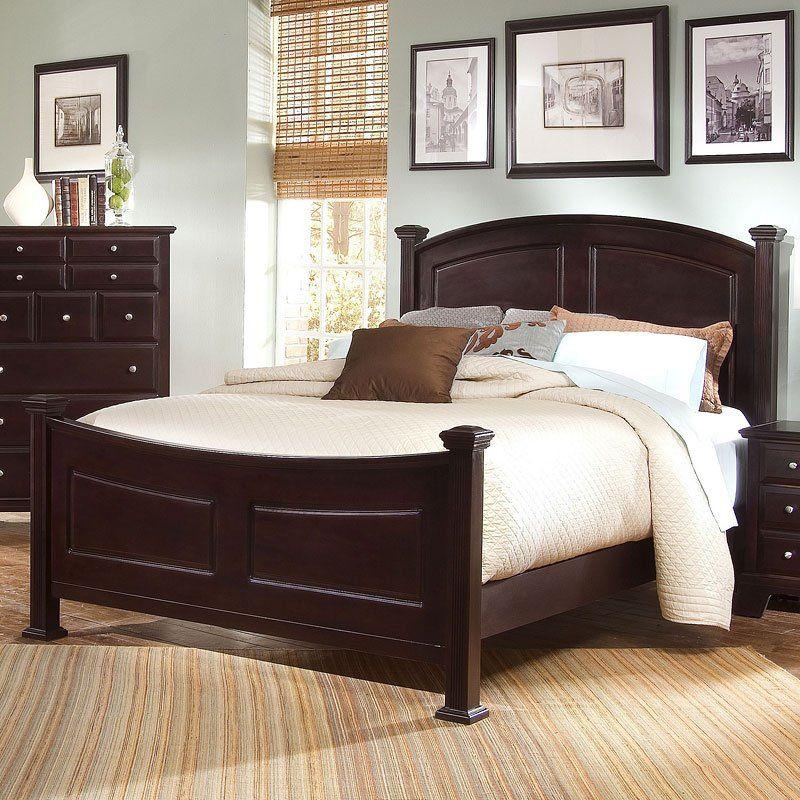 Hamilton Franklin Panel Bed (Merlot) Queen panel beds
