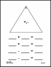 Fact Family Triangles {FREE Download} | Fact families, Game boards ...