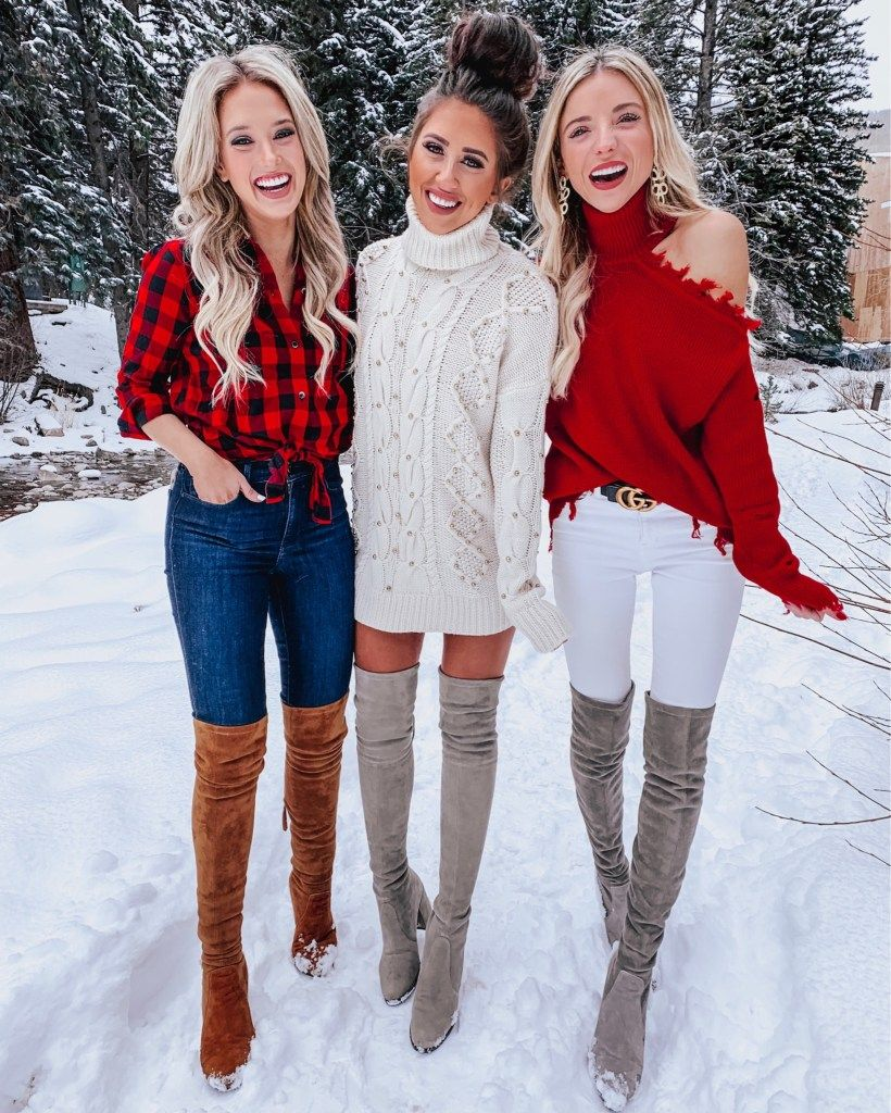 Pin on Over the knee boots on bestbootlooks.com