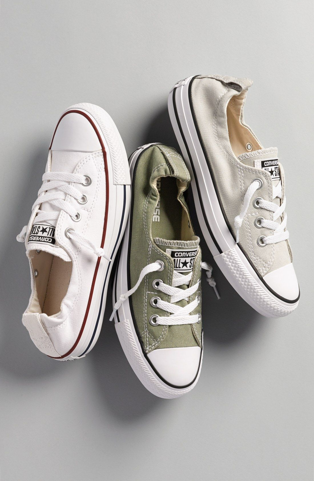 5fc67d4e3970 Free shipping and returns on Converse Chuck Taylor®  Shoreline  Sneaker ( Women) at Nordstrom.com. Crisp white canvas is complemented with red and  blue ...