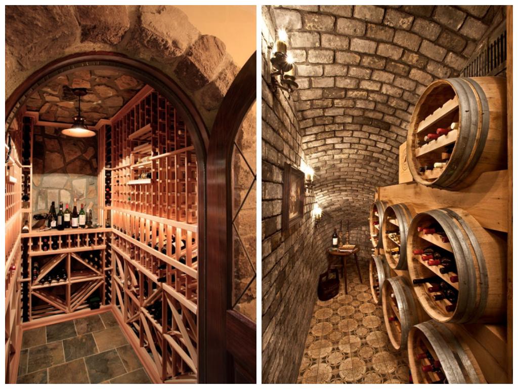 Cave vin r sidentielle cave vin r sidentielle home wine cellars wine cellar et cellar - Cellier dans une maison ...