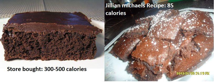 Jillian Michales 85 calorie brownies