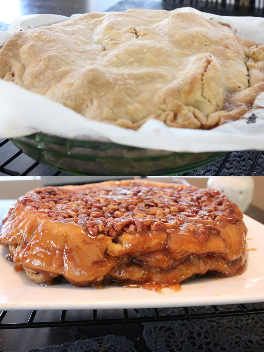 Upside Down Cheesecake Apple Pie Recipe Emailed