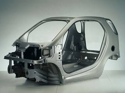A Smart Car Tridion Safety Cell Makes The Very Safe Vehicle