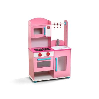 Step2 Pink Midtown Modern Wood Kitchen Pink Play Kitchen Wooden