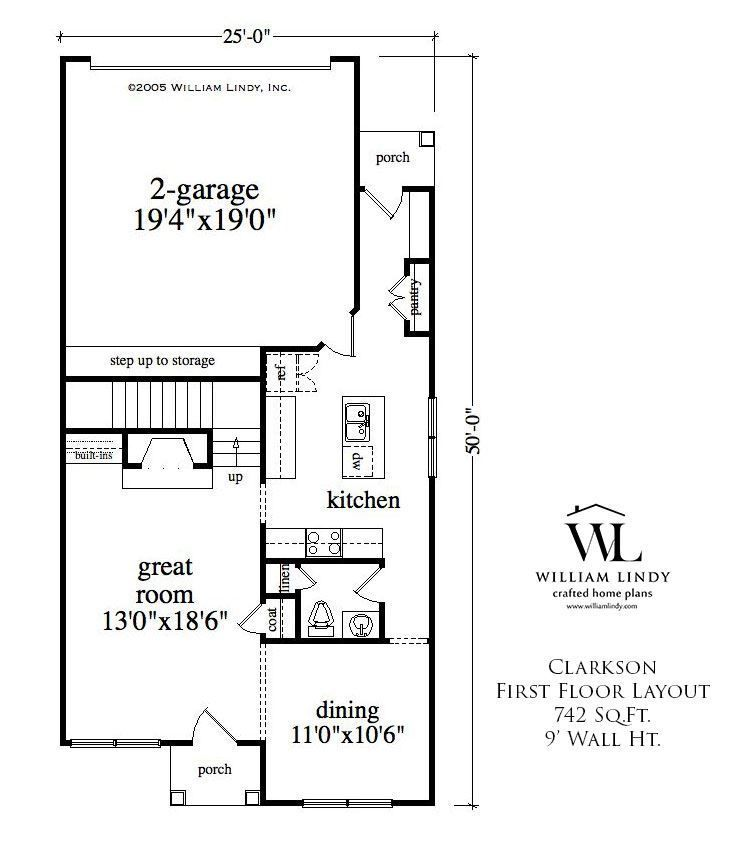 Clarkson Two story house plans, Floor layout, House