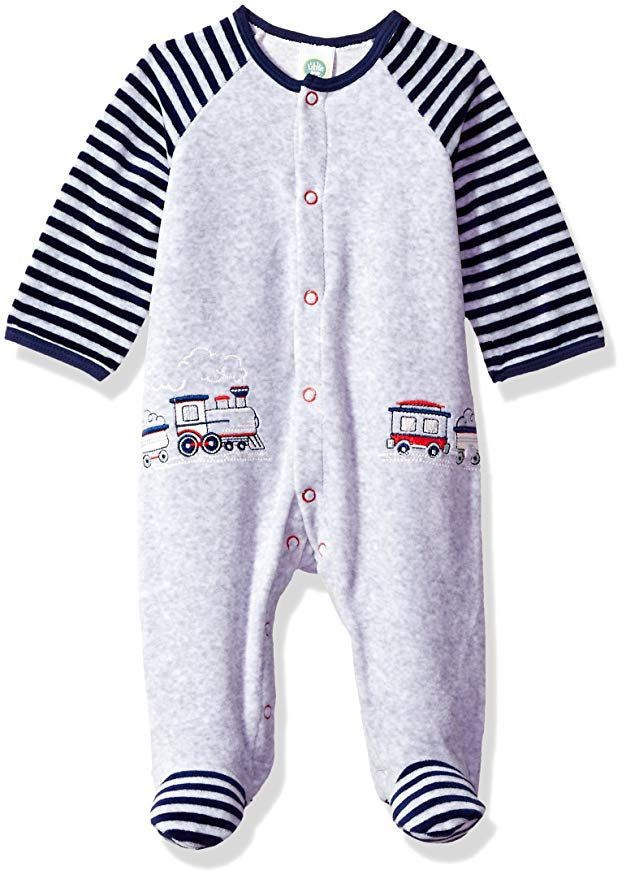 amazon little me baby girls' footie clothing  baby