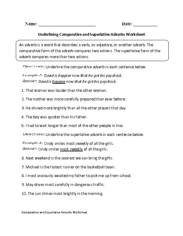 Englishlinx Com Adverbs Worksheets