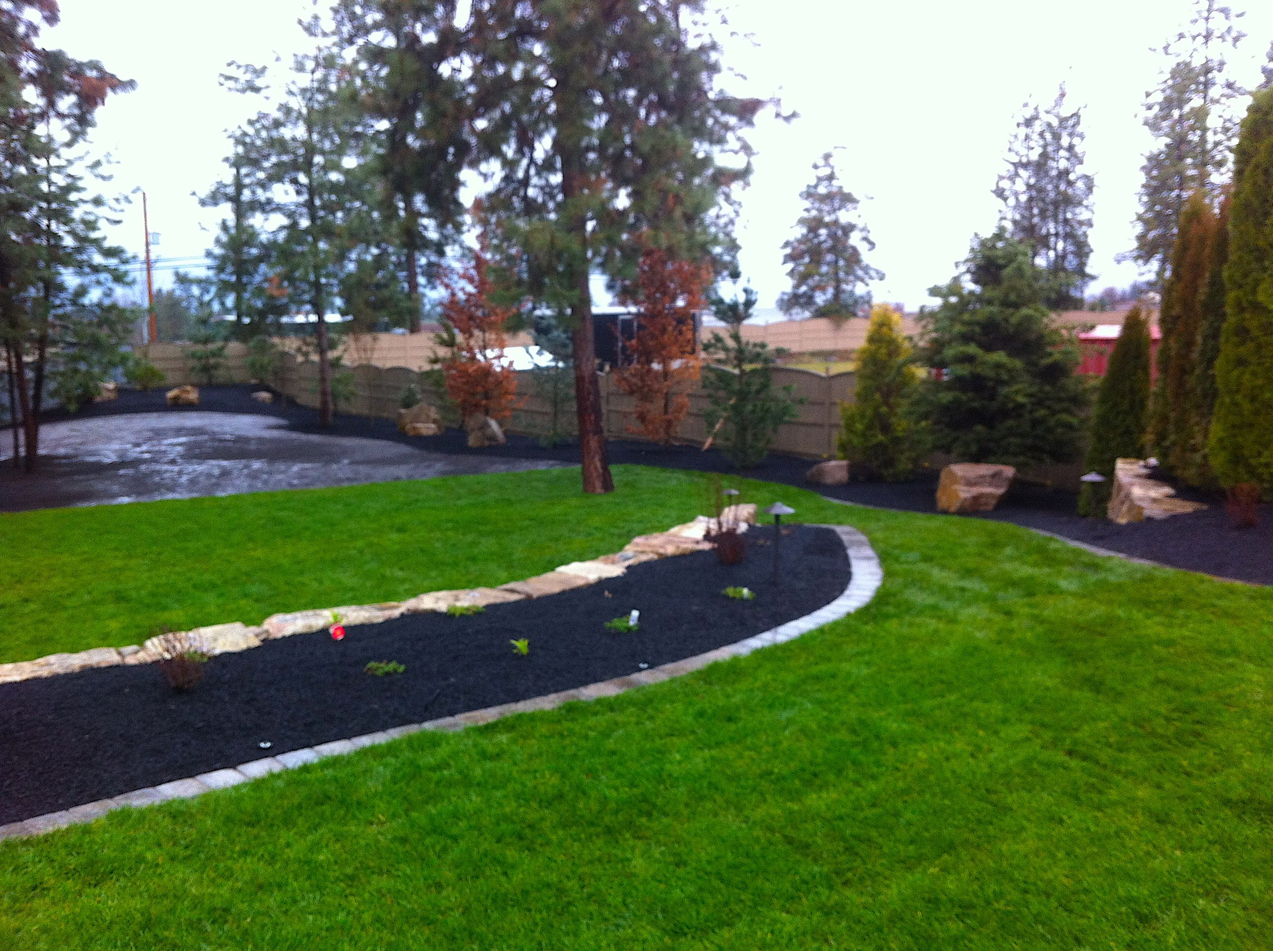 We turned this backyard, from a gravel pit, into a place ...