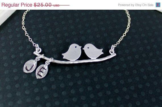Thanksgiving Love Birds Bracelet  Personalized by JewelryStyles, $23.75