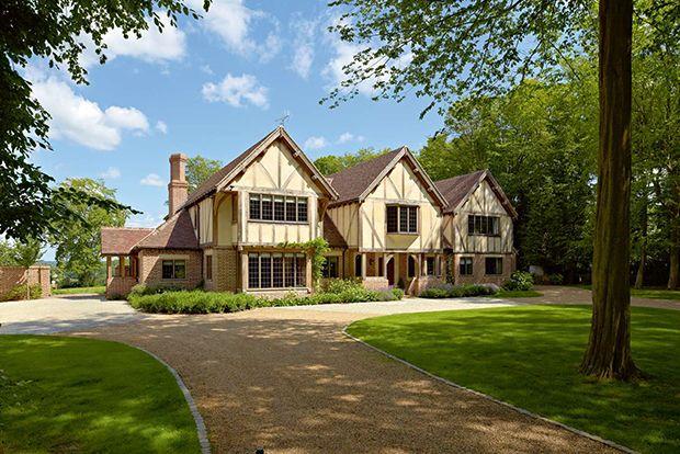 Brick Timber Frame Homes : Oak frame timber home with brick cladding new