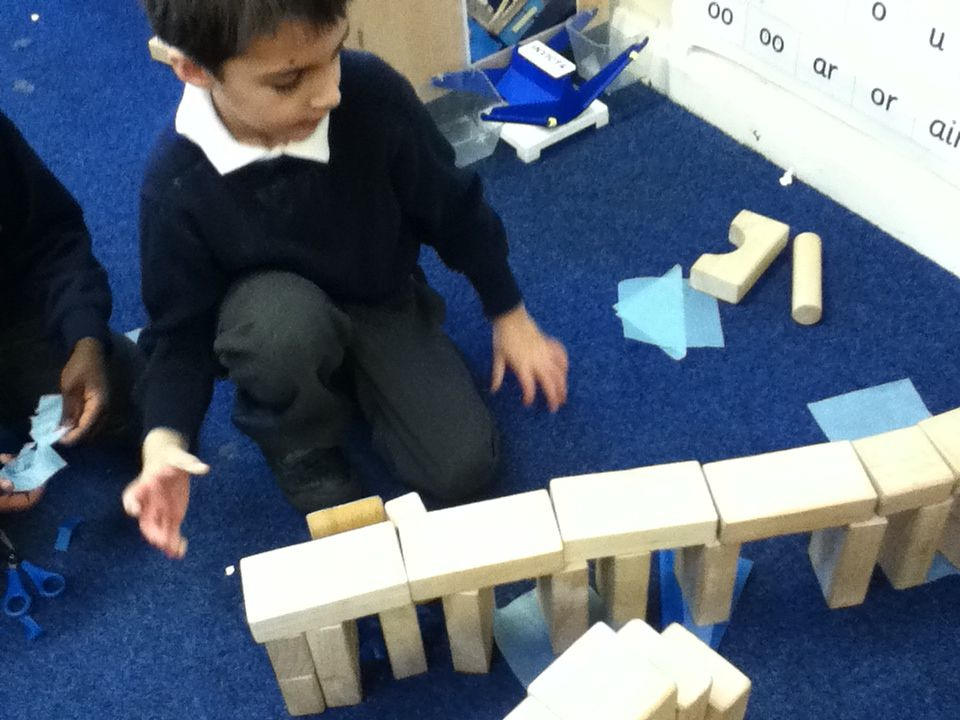 Make A Bridge For The Gingerbread Man To Cross The River Gingerbread Man Gingerbread Preschool