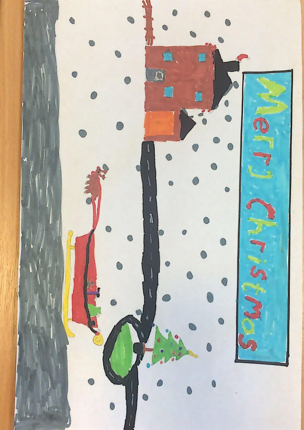 Lucy Rowan Year 5 St Columba S Rcva Primary School Christmas