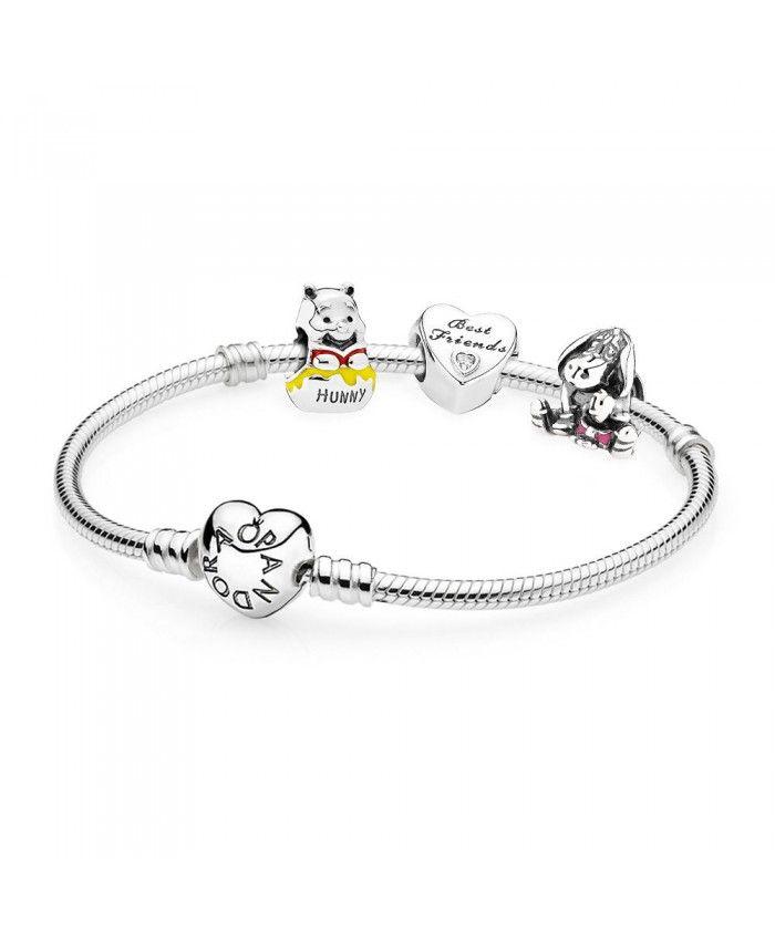 643114551 Pandora Disney Winnie The Pooh Eeyore Bracelet Sale UK | pandora ...