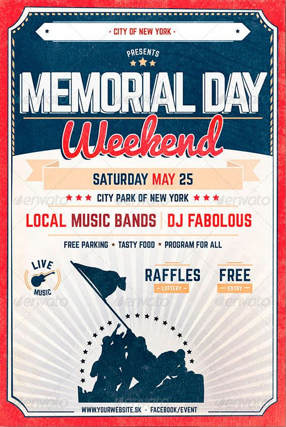 Memorial Day Flyer Template Memorial Day Flyer Template Httpwww