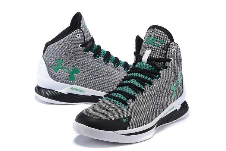 Supply Under Armour Curry One kids Black gray green