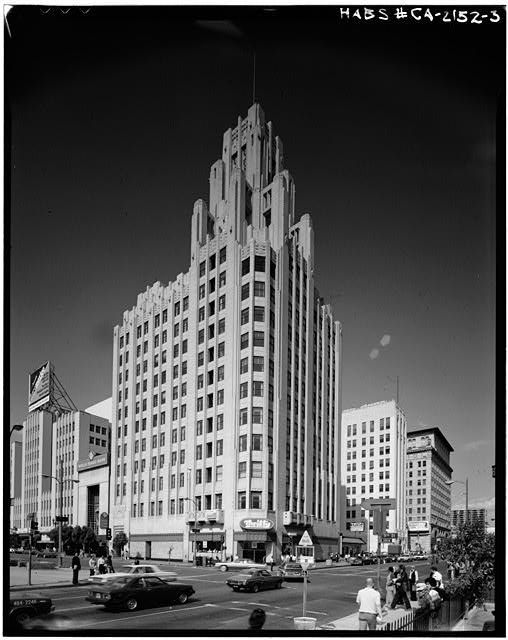 3.  SOUTH AND EAST FRONTS - Title Guarantee & Trust Building, 401 West Fifth Street, Los Angeles, Los Angeles County, CA