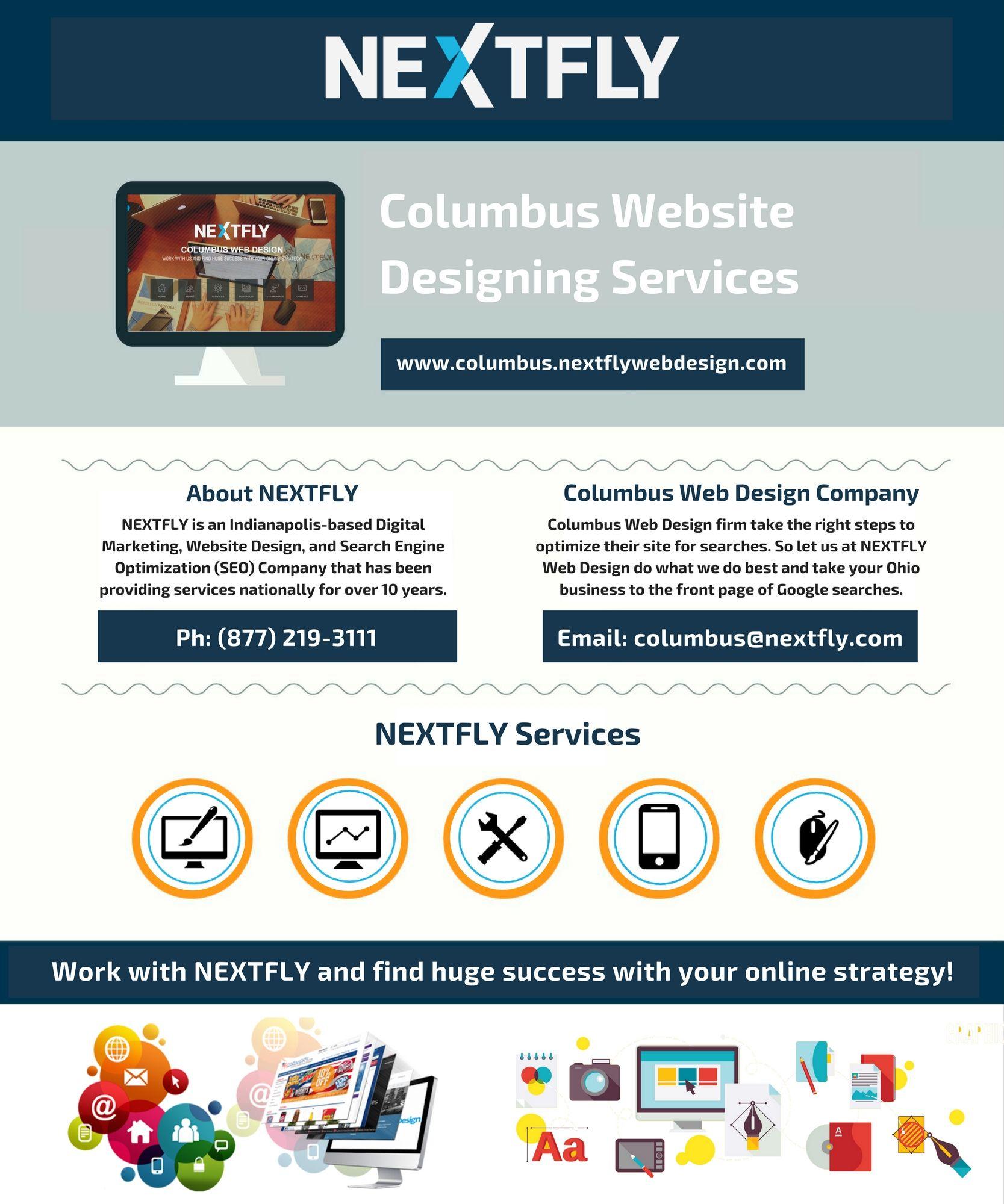 Ohio Based Columbus Web Design Company Nextfly Is A Proven Leader In Web Design Development And Seo Services Ge Web Design Company Web Design Firm Web Design